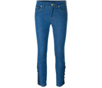 - Halbhohe Skinny-Jeans - women