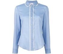 Hemd mit Spitzensaum - women - Baumwolle - 44