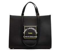 logo-patch tote bag