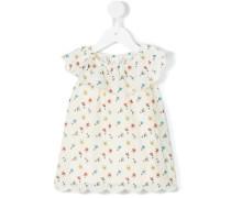 Kleid mit Blumen-Print - kids - Baumwolle - 9 M.