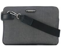 - double compartment briefcase - men