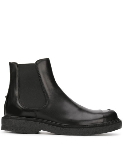 Chelsea-Boots mit Cut-Out