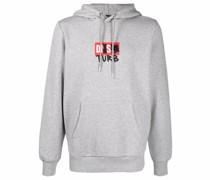 logo-print hoodie