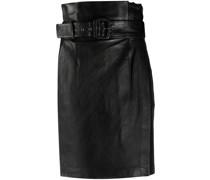 matte high-waist skirt