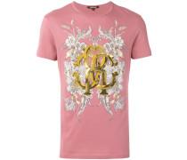 T-Shirt mit Gold-Print - men - Baumwolle - L