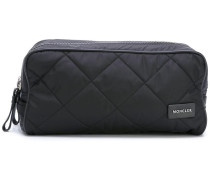 quilted wash bag