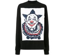 Langarmshirt mit Clown-Print