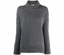 Pullover mit gerippten Bündchen