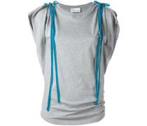 T-Shirt mit Schleifenverzierung - women