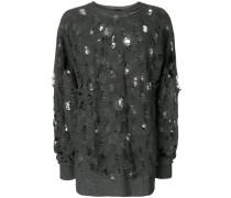 Pullover im Destroyed-Look