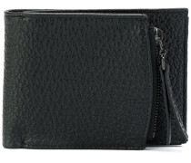 zip compartment billfold wallet