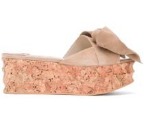Sandalen mit Schleife - women