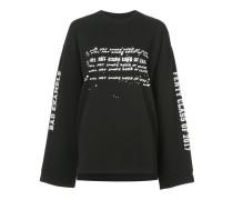 Klassisches Oversized-Langarmshirt - Unavailable