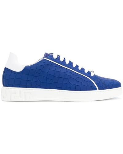 Versace Herren Sneakers aus Leder Günstig Kaufen Spielraum Store AqpGa