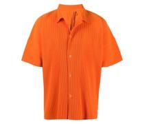 Plissiertes Hemd
