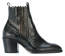 Freddy Cura snake effect boots