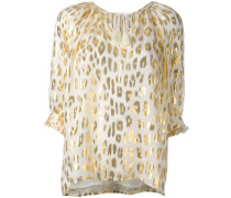 Bluse mit Animal-Print - women