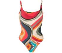 'Hapuna' Badeanzug mit Print