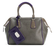 Zweifarbige Handtasche