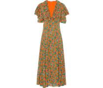 Jacquard-Kleid mit Paisley-Print