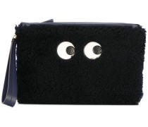 zipped top 'Eyes' pouch