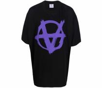 "T-Shirt mit ""Anarchy""-Print"