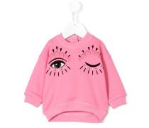Pullover mit Augen-Print