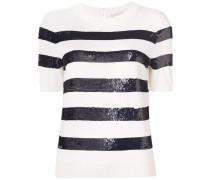 sequin short sleeved top