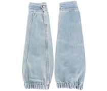 Jeansstulpen mit elastischem Bund - women