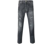 Jeans im Distressed-Look - men - Baumwolle - 38
