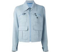 peacoat denim jacket - women - Baumwolle - S