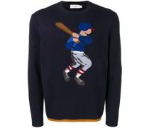 Pullover mit Baseballmotiv
