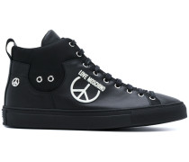 'Peace' High-Top-Sneakers