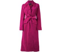 - Mantel mit Taillengürtel - women