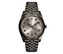 Personalisierte pre-owned Rolex Datejust