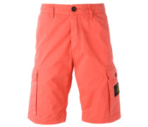 Cargo-Shorts mit Logo-Patch