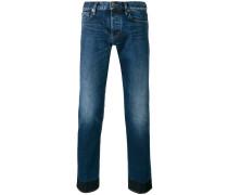 Jeans mit Einsatz - men - Baumwolle/Elastan - 31