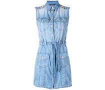 Jeanskleid mit Kragen - women - Baumwolle - 38