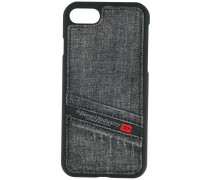 - iPhone 7-Hülle in Denim-Optik - men - Baumwolle