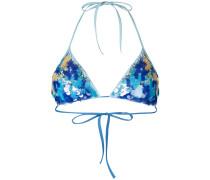 'Floral Rhapsody' Triangel-Bikinioberteil