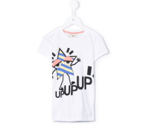 T-Shirt mt 'Up Up Up'-Print