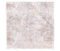 Schal mit Print - men - Baumwolle