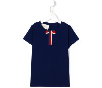 T-Shirt mit Schleife - kids - Baumwolle - 8 J.