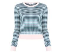 Vichy Jacquard sweater