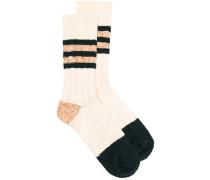 Gestreifte Socken - men - Baumwolle
