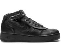 x Comme des Garçons Air Force 1 Mid Sneakers