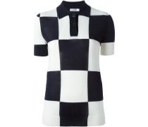 Poloshirt mit Schachbrettmuster