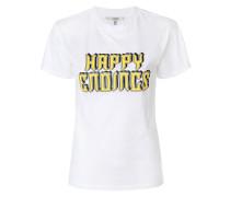 "T-Shirt mit ""Happy Endings""-Slogan"