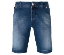 Jeans-Shorts mit Einstecktuch - men