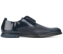 Derby-Schuhe mit perforierter Kappe - men